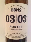 Brew By Numbers 03/03 Porter - Traditional
