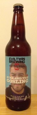 Evil Twin / Crooked Stave Ryan And The Gosling - Belgian Ale
