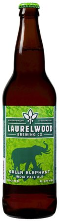Laurelwood Green Elephant