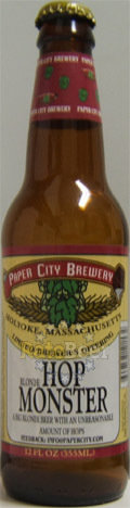 Paper City Blonde Hop Monster - Imperial/Double IPA