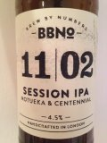 Brew By Numbers 11/02 Session IPA - Motueka & Centennial