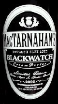 MacTarnahans Bourbon Cask Aged Blackwatch Cream Porter - Porter