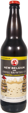 New Belgium Hop Kitchen  #6 / Odell FOCOllaboration Pale Ale