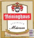Reininghaus M�rzen - Oktoberfest/M�rzen