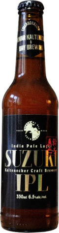 Kaltenecker / Bay Brewing Yokohama Suzuki India Pale Lager 16�