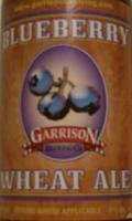 Garrison Blueberry Wheat - Fruit Beer