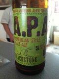 Blackstone American Pale Ale