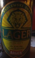 Argus Lager Złocisty