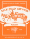 Back Road Autumn Ale 2003 (and earlier) - Oktoberfest/M�rzen