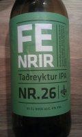 Borg Fenrir Ta�reyktur IPA Nr. 26