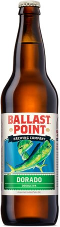 Ballast Point Dorado Double IPA - Imperial IPA