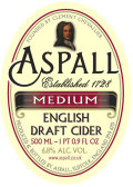 Aspall Medium Suffolk Cyder
