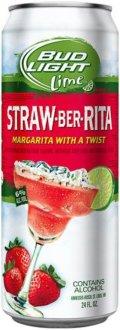 Bud Light Lime Straw-Ber-Rita (6%) - Fruit Beer
