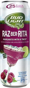 Bud Light Lime Raz-Ber-Rita (6%) - Fruit Beer