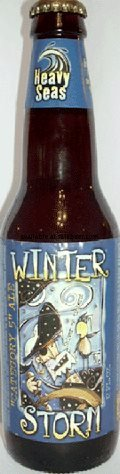 Clipper City Heavy Seas Winter Storm DIPA (2003-2004) - Imperial IPA