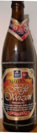 Mayers Hefeweizen Premium Dunkel - Dunkelweizen