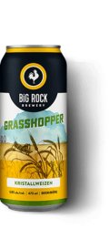 Big Rock Grasshopper Wheat Ale