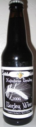 Kuhnhenn Big N Bold Barley Wine - Barley Wine