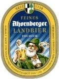 Ahornberger Landbier Premium