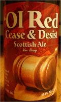 Erie Brewing Ol� Red Cease & Desist Scottish Ale