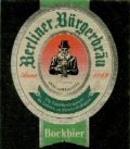 Berliner B�rgerbr�u Heller Bock