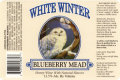 White Winter Blueberry Mead