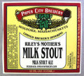 Paper City Rileys Mothers Milk Stout - Sweet Stout