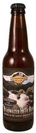 Adirondack Headwater Hefe Beer