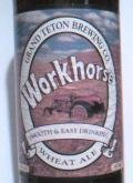 Grand Teton Workhorse Wheat - Wheat Ale