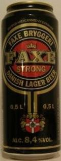 Faxe Strong Danish Lager - Malt Liquor