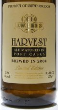 J.W. Lees Harvest Ale (Port) - Barley Wine