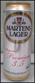 Martens Lager 3.5% - Pale Lager