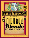 Marin Tiburon Blonde - Belgian Ale