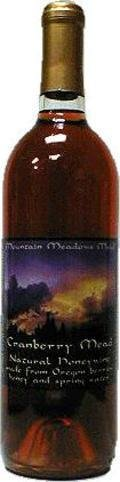 Mountain Meadows Cranberry Mead
