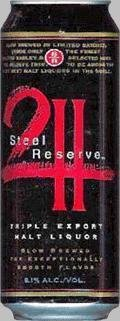 Steel Reserve 211 Triple Export - Malt Liquor