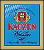 Kauzen Weissbier Hell - German Hefeweizen