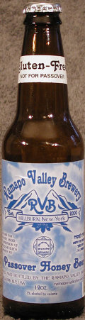 Ramapo Valley Passover Honey Beer