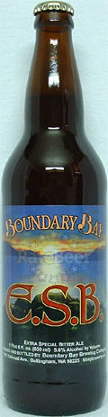 Boundary Bay ESB (Best Bitter)