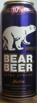 Harboe Bear Beer Extra Strong