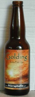 Bi�ropholie Golding - India Pale Ale (IPA)