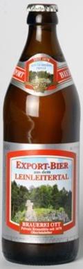 Ott Export Bier