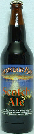 Boundary Bay Scotch Style Ale - Scotch Ale