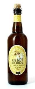 Grain dOrge Cuv�e 1898
