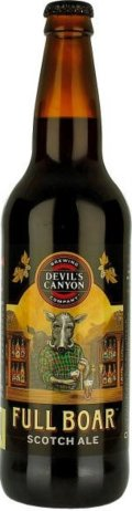 Devils Canyon Full Boar Scotch Ale