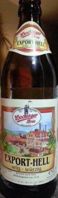 Wochinger Br�u Export Hell