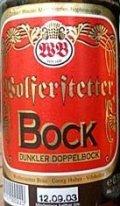 Wolferstetter Bock Dunkler Doppelbock