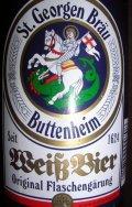 St. Georgen Br�u Weissbier - German Hefeweizen