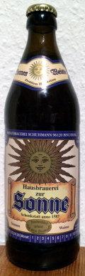 Brauerei zur Sonne Sonnen Weisse