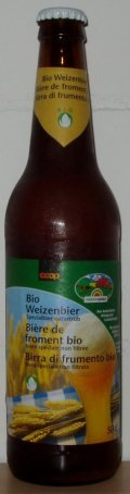 Locher Coop Bio Weizenbier - German Hefeweizen