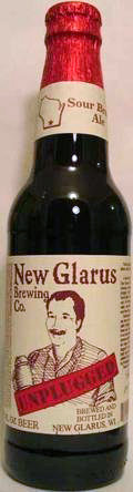 New Glarus Unplugged Sour Brown Ale - Sour Red/Brown